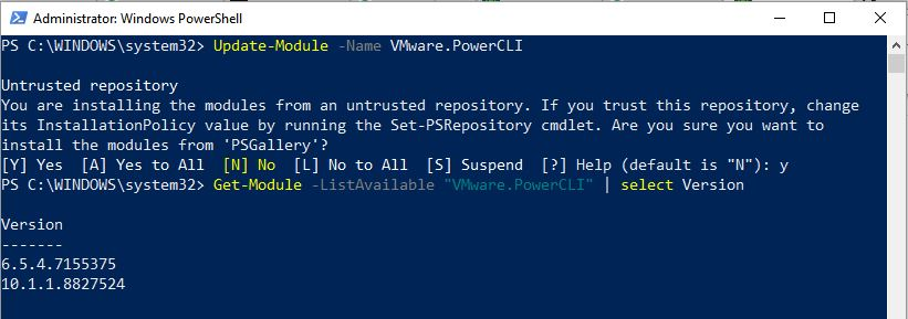 powercli_multiple_versions